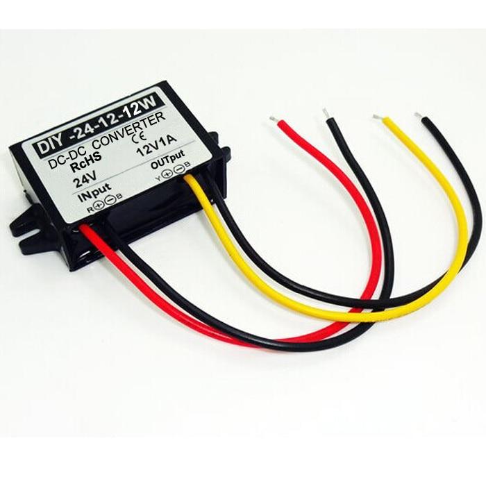 Converter DC/DC Regulator 24V 36V  to 12V 1A Car Led Display Power Supply Module