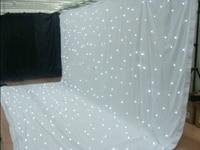 3*6 м led звезда ткань свадебный фон занавес с огнями белого звездным светодиодный занавес звезды драпировки для сцены украшения стержня карм