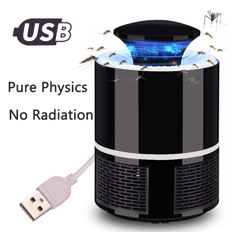 Mosquito Killer USB Electric Mosquito Killer Lamp Photocatalysis Mute Home LED Bug Zapper Insect Trap Radiationless Pest Control|Mosquito Killer Lamps| |  - title=