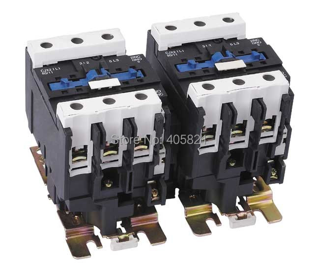 CJX2-80N/LC2-D8011 Mechanical Interlocking Contactor 80A cjx2 115n mechanical interlocking contactor 115a