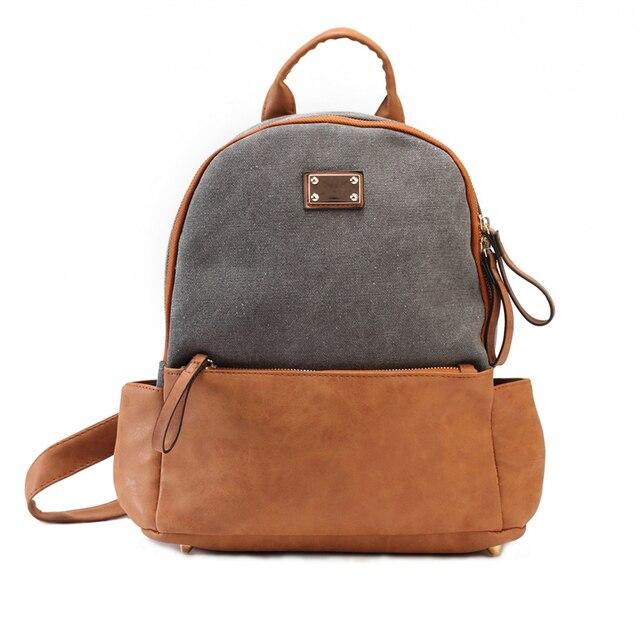 b2f1dea1b421 DIDA BEAR Brand New Women Canvas Backpacks Ladies Shoulder Bag Rucksack  School Bags For Girls Teenagers Travel Leisure bagpack