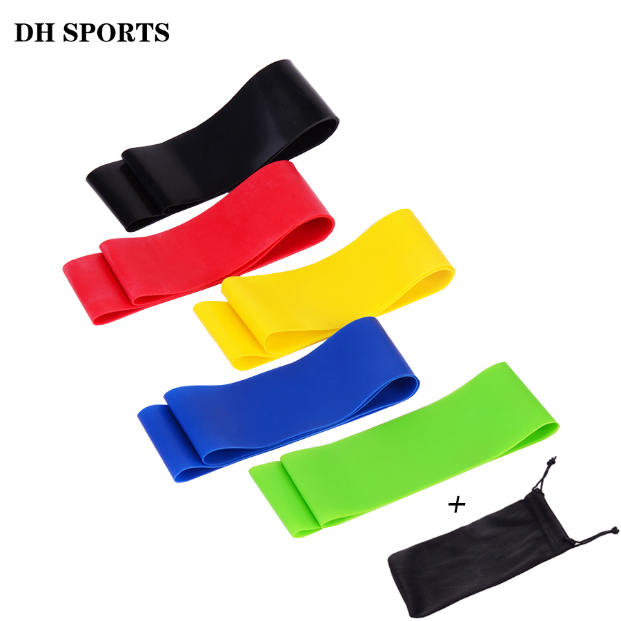 Charitable 60cm Resistance Loop Bands Fitness Training Elastic Pull Rope Rubber Bands Sports Yoga Exercise Gym Expander Equipment With Bag Moderate Cost