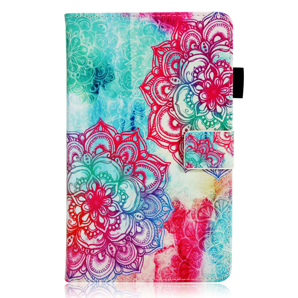 3D Embossed Stand Leather Cover For Huawei Mediapad M3 Lite 8 Flip Cover Casing M3lite 8.0 Inch Case Funda Tablet Cases