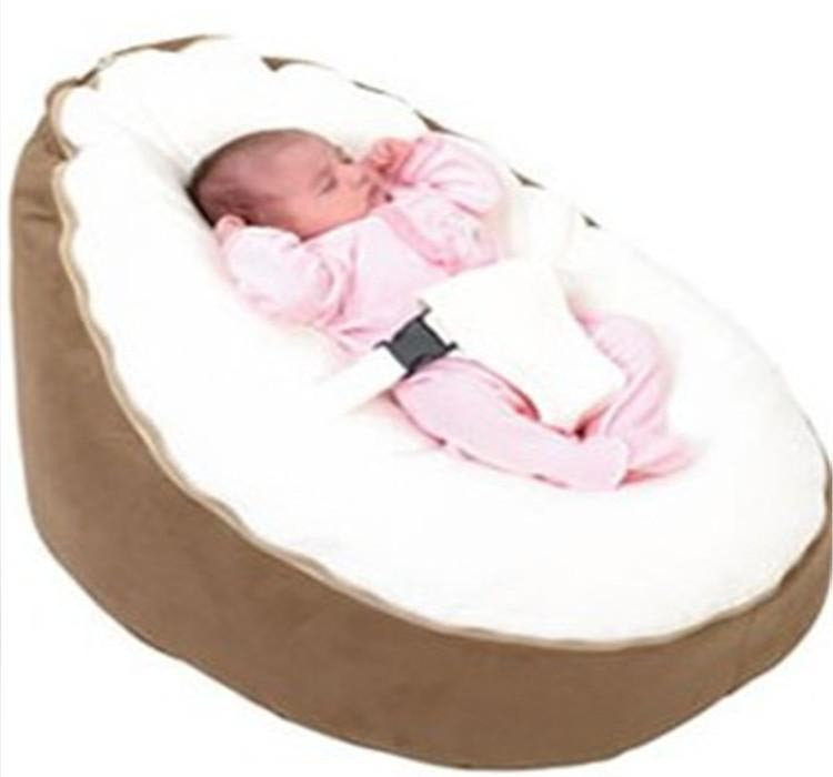 Soft Comfortable Baby Bean Bag Seat Bed Two Top CoversBaby Cover Without Filling Waterproof Oxford Bottom On Aliexpress
