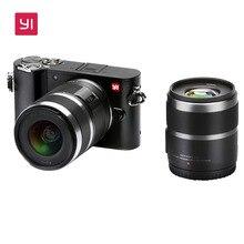Yi M1 беззеркальных цифровой Камера с Yi 12-40 мм F3.5-5.6 объектив ЖК-дисплей международная версия сырья ЖК-дисплей 20MP видео рекордер 720RGB H.264