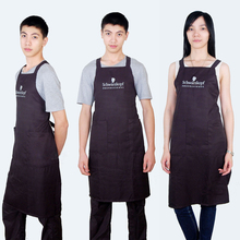 Black Color Hair Apron Universal For Men And Women, Hairdressing SK-9 Beauty Studio