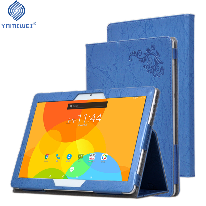 For Chuwi Hi9 air Tablet Case Print PU Leather Cover Case For 10.1'' CHUWI Hi9 Air MT6797 Magnetic Cover With Hand Holder ynmiwei for miix 320 tablet keyboard case for lenovo ideapad miix 320 10 1 leather cover cases wallet case hand holder films