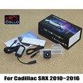 Para Cadillac SRX 2010 ~ 2016 / luz de aviso de alarme Laser Fog luz / luz de nevoeiro traseira Anti Taillight colisão acessórios automóveis