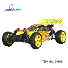 HSP RC CAR 1/10 NITRO BUGGY 4WD Off Road Advanced RTR Buggy 18CXP Double Speed (item no. 94106)