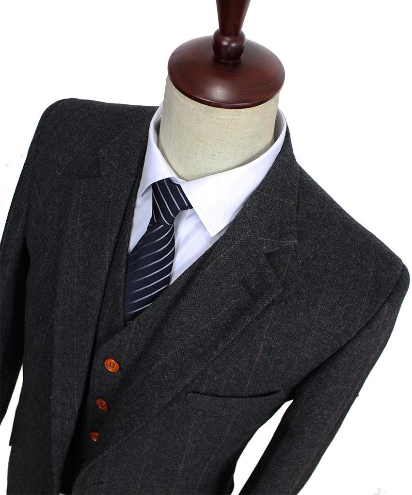 Wool-Dark-Grey-Herringbone-Tweed-tailor-slim-fit-wedding-suits-for-men-Retro-gentleman-style-custom (1)