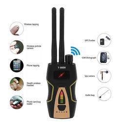 T8000 Detector de señal RF inalámbrico Anti-espía GSM buscador de Audio Detector de escaneo GPS