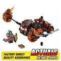 Nova lava lepin 14003 das 203 pcs cavaleiros moltor smasher kits modelo de construção de brinquedo blocos de tijolo compatível 70313