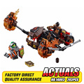 Nueva lava del acelerador lepin 14003 203 unids caballeros moltor kits de edificio modelo bloques de juguete ladrillo compatible 70313
