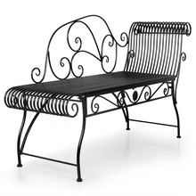 HLC Royal Lounge Chair Ring Holder Single Outdoor Chaise Lounge Patio Chaise Lounge Christmas Gift