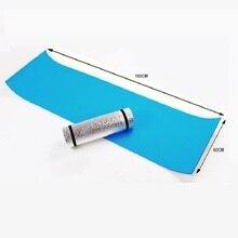 Aluminum Foil mat Camping Dampproof beach mat 180*50*0.6cm