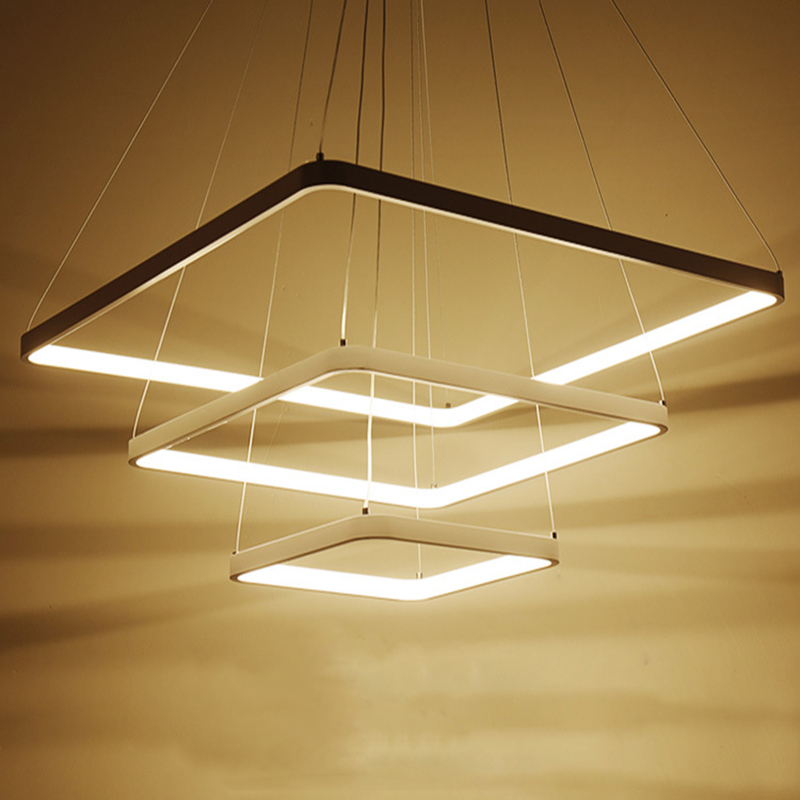 modern led pendant lights for kitchen dining room restaurant lighting ring indoor home suspension luminaire moderne hanging lamp zte zte blade a610