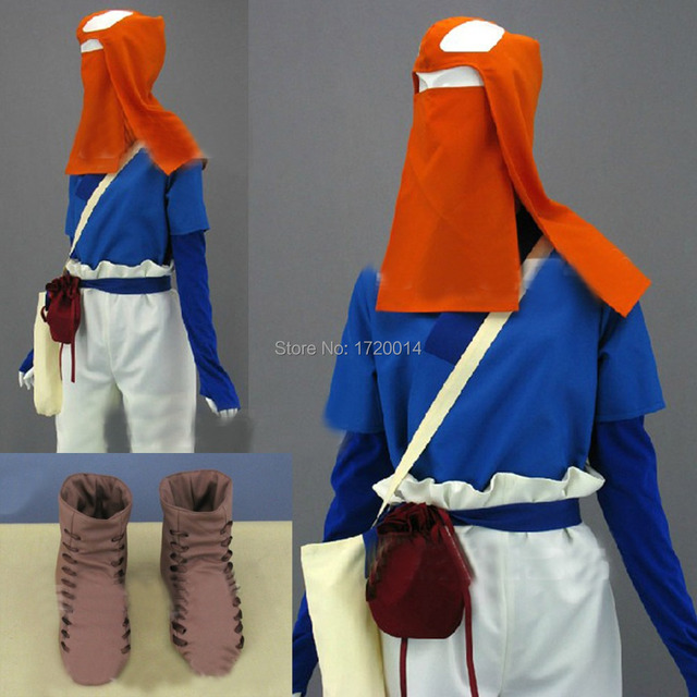 princess mononoke ashitaka wild clothes outfit cosplay costume custom made halloween costumes