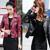 Mujeres de la manera Señora Delgada Corta de Cuero de Imitación Punk Motocicleta Chaqueta de La Capa Outwear