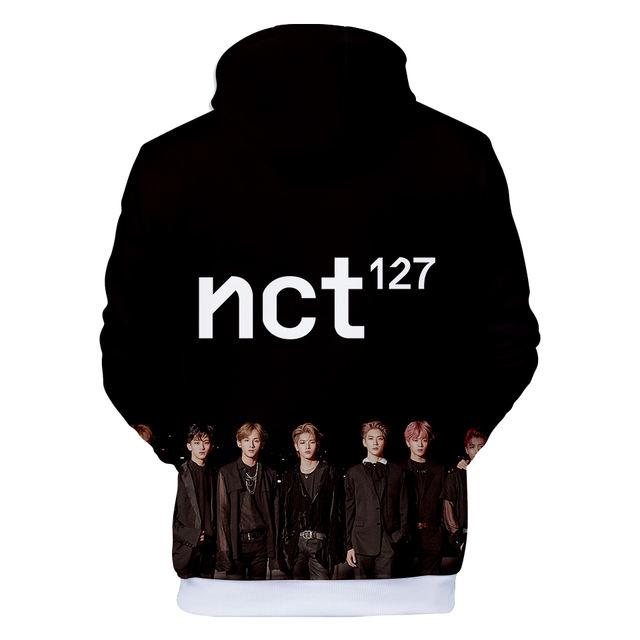 NCT 127 3D HOODIE