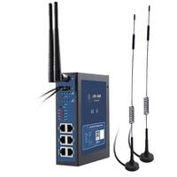 USR G808 Industrie Dual SIM 4g LTE WiFi Wireless Router mit SIM Karte Slot TCP UDP HTTP Protokolle DIN  schiene Wallmout Watchdog170|Zugangs Control Kits|Sicherheit und Schutz -