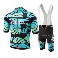Morvelo 2019 cycling kit mens short sleeve cycling jersey set men go pro triathlon skinsuit Ropa Ciclismo summer bike uniform