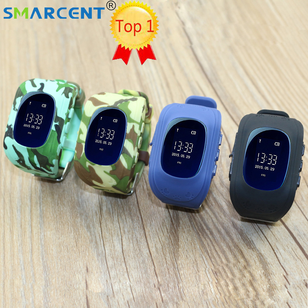 Smarcent Q5 GPS Camoufla Smart baby watch Phone Tracker Wristband Kids SOS GSM Smartwatch For iphone Android Children's watches iradish q5 smart phone watch mtk6261 gsm gps wifi lbs smartwatch