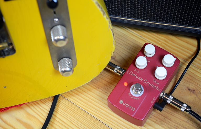 цена на Joyo JF-39 Deluxe Crunch Guitar Effect Pedal with Free Pedal Case