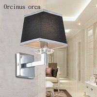 Настенный светильник в скандинавском стиле  современный  минималистичный  для гостиной  прохода  балкона  спальни  американская  оригинальн...