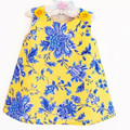 2016 Baby Girl Dress China Style Baby Girl Clothes Dresses Summer Sleeveless Baby Dress Girl Vestido Infant KIz Bebek Elbisesi