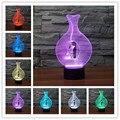 Free Shipping 1Piece bowling shape LED Night Light 3D Mood Lamp Night Light Lava Lamp Power Bank