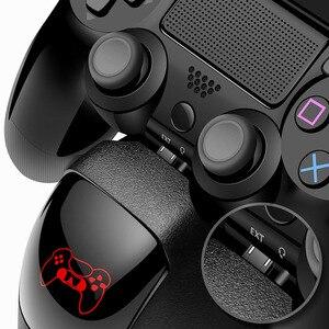 Image 4 - Ładowarka PS4/PS4 Slim/ PS4 Pro podwójna ładowarka kontrolera konsola pionowe stanowisko chłodzące stacja ładowania Playstation 4 wysoka jakość
