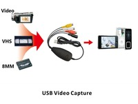 USB Video Grabber With Audio VHS To DVD Converter DVD Maker Capture Analog Video From VHS