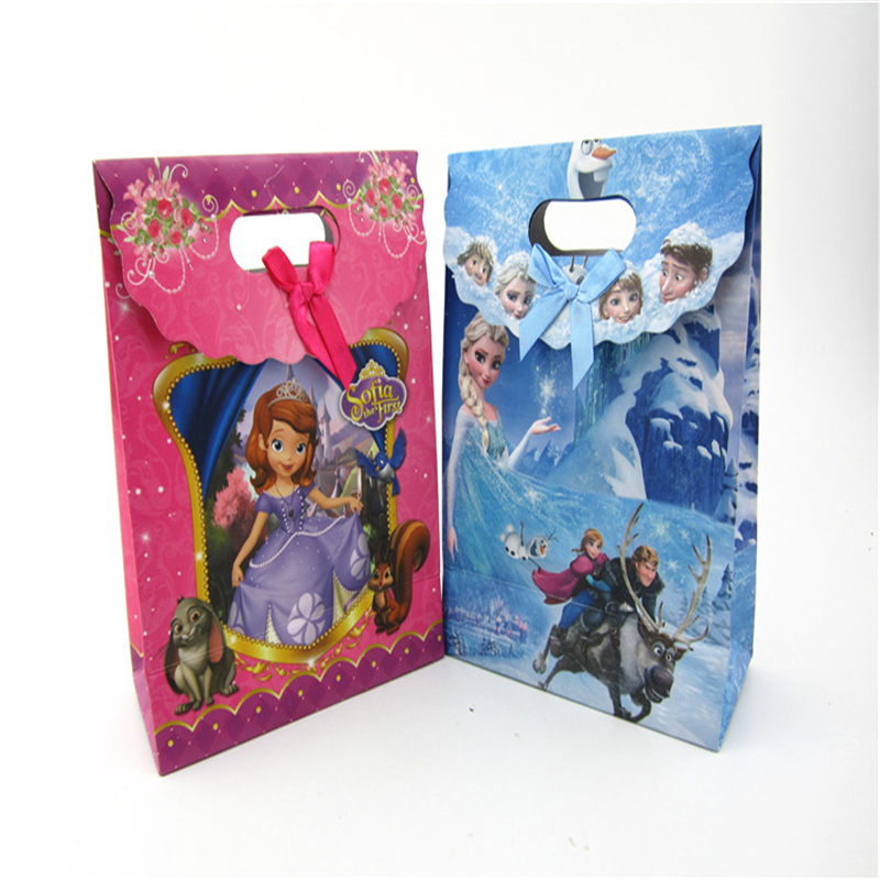 Toys & Hobbies Flight Tracker 1pcsdisney Cartoon Children Frozen Paper Tote Bag Girl Boy Birthday Gift Bag Student File Package Cosmetic Doll Toy Shopping Bag Good Heat Preservation Dolls & Stuffed Toys