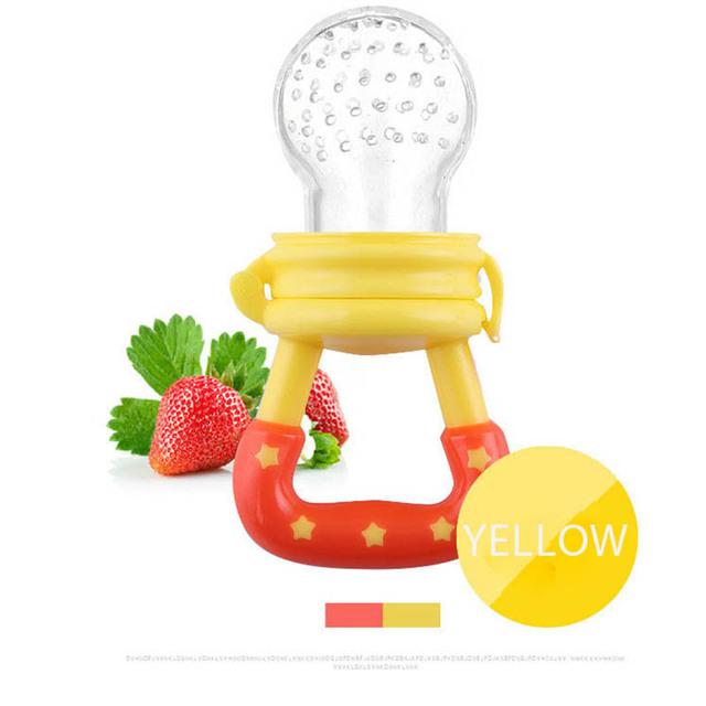 Baby Teether Nipple Fruit Food