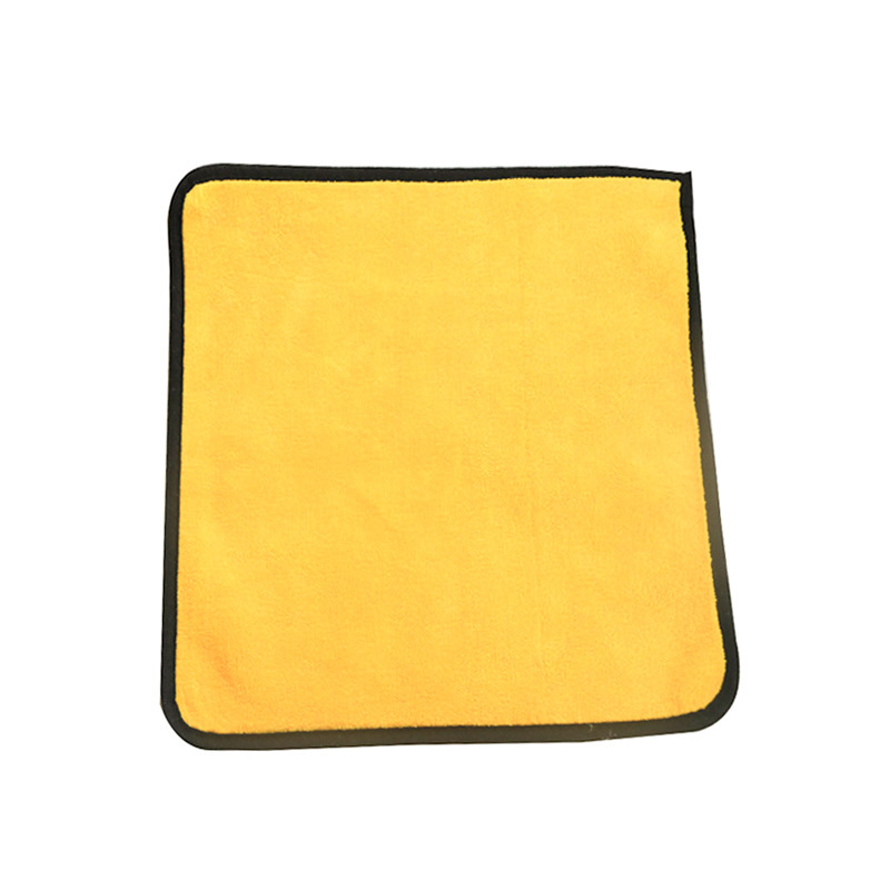 30cm Car Cleaning Scouring Pad Washing Towel Thick Plush Microfiber Dish Towels Fiber Cloth for Kitchen Car Care Wax Polishing