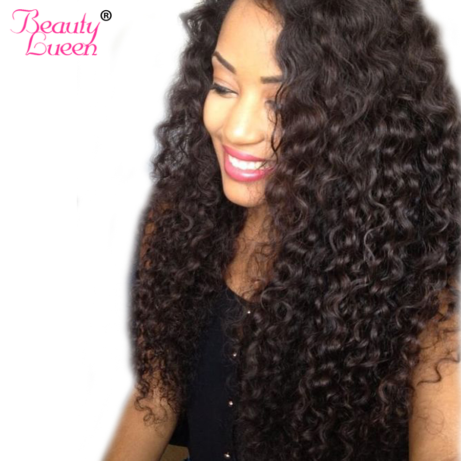 Malaysian Kinky Curly Hair Extension 100% Human Hair Bundles Non Remy Hair Weave Bundles Can Buy 3 Or 4 Bundles BEAUTY LUEEN