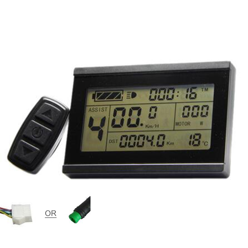 Free shipping electric bicycle KT LCD3 display for electric bike LCD panel 24V 36V 48V