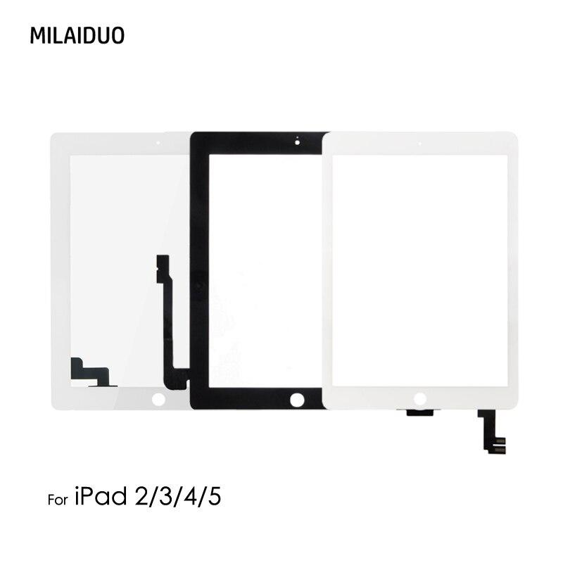 Orig/Hohe Kopie A + Touch Screen Display Digitizer Ersatz Teile Für iPad 2/3/4 5 6 luft 2 Montage Tablet Touch Panel OCA/Kleber