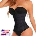 Bodis Sexis для Женщин Корректирующее Белье Женщины Черный Похудения Body Shaper Высокой Талией Cincher Пояс Похудения Бесшовные Body Shaper Пояс