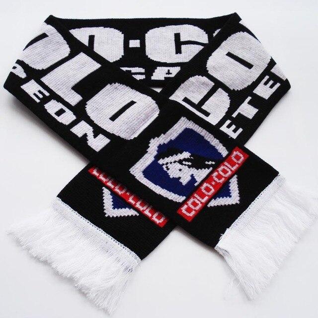 Club Social Y Deportivo Colo Colo Knitting Jacquard Footall Scarf