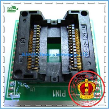 Free shipping .SOP32 wide-body test seat OTS-32-1.27-16 SOIC32 Burn Block programming Block Adapter