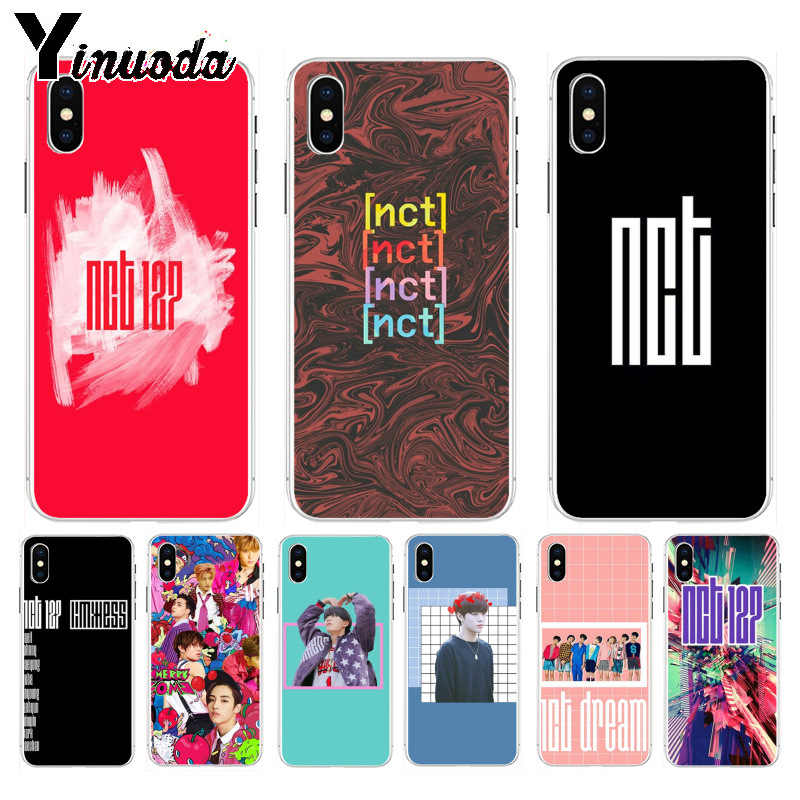 Yinuoda NCT 127 Kpop Boy group New High Quality Multi Colors Luxury phone case for iPhone 8 7 6 6S Plus X XS max 10 5 5S SE XR