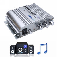 High Quality 12V Hi Fi Stereo Amplifier 300W Lightweight Aluminum Car Home Super Bass Hi Fi