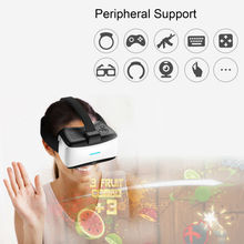 Svpro Multi functional VR Glasses head mounted ps4 gamepad VR BOX 3d vr digital actuality 3D VR headset with bluetooth +wifi join