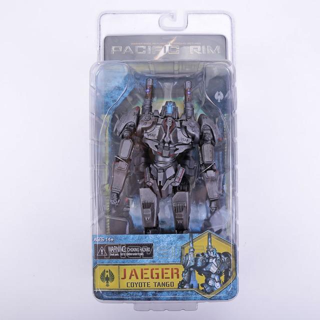 NECA Pacific Rim Jaeger ROMEO AZUL/Tácito Ronin/horizon valiente/coyote tango pvc figura de acción de colección modelo juguete