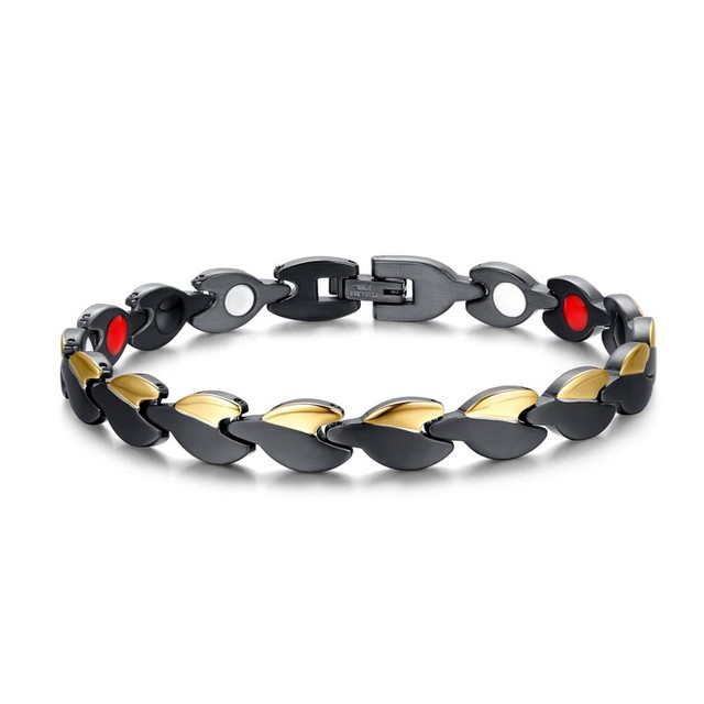 Stainless Steel Fashion Jewelry Good For Health Care Bracelet Brand Titanium Bracelet Anti-fatigue bracelets For Men/Women