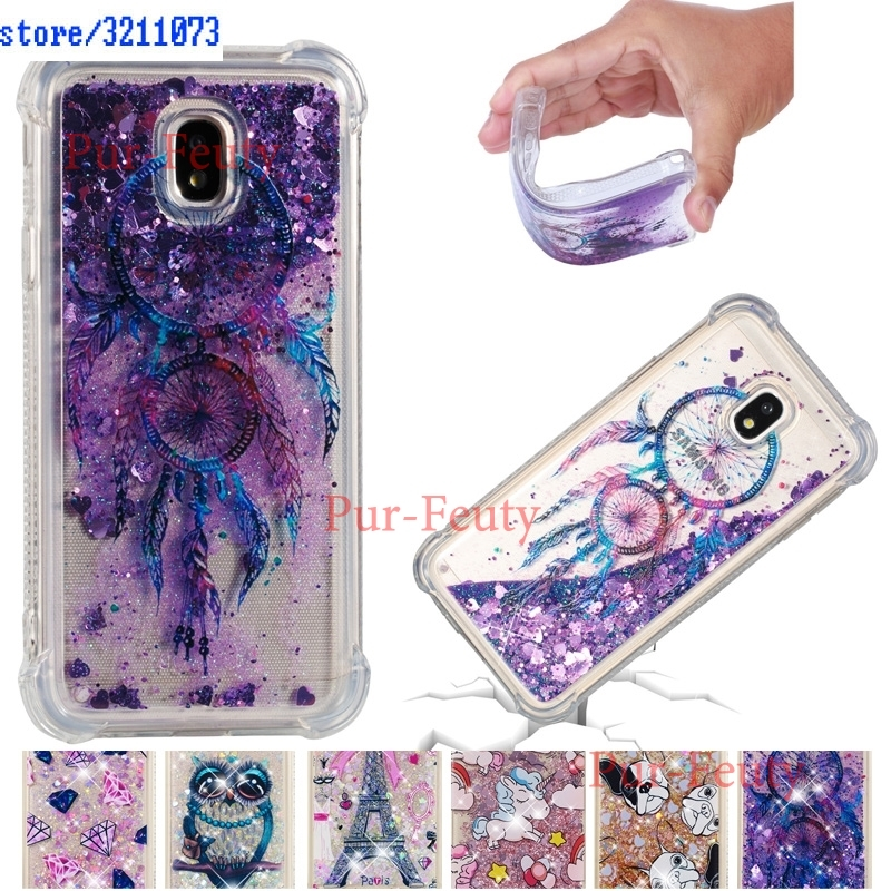 Quicksand Case for <font><b>Samsung</b></font> Galaxy J3 2017 J 3 330 SM-J330 Case Phone Cover SM-J330F/DS SM-J330F SM J330 J330F J330F/DS <font><b>J330FN</b></font> image