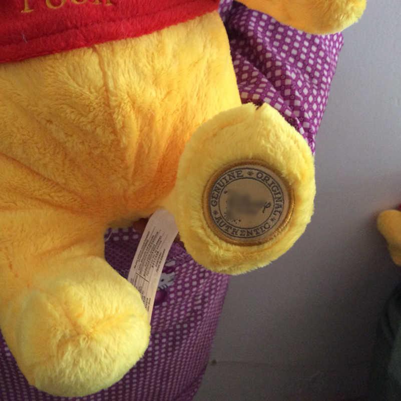 Envío Gratis 35cm 13,7 ''Original Winnie oso amarillo juguetes de peluche muñeco de peluche para niño y niña regalo de cumpleaños