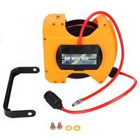Hose Reel Base 6.5*10mm Automatic PU Air Hose Reel Retractable Pneumatic Hose Storage Tool