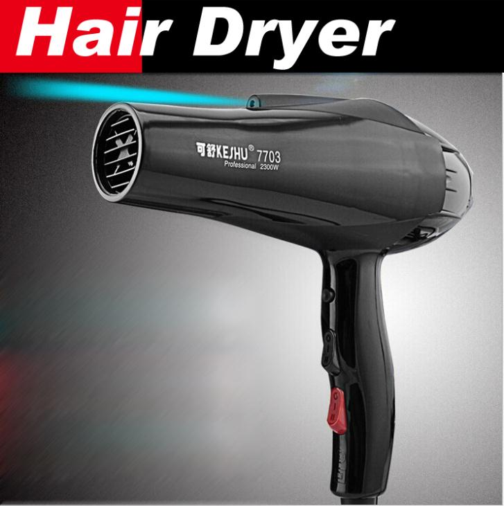 Styling Tools Hair Dryer Black Professional Blow Dryer Hot